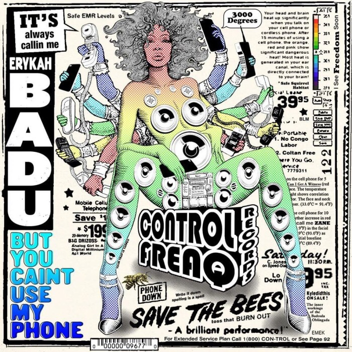 Erykah Badu – But You Caint Use My Phone (First Listen)