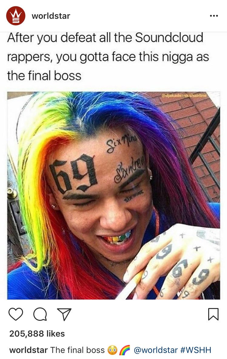 Teka$hi 6ix9ine is Proving To Be 2018's most unusual rapper